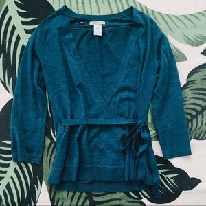 GAP ~ Ballet Wrap Top